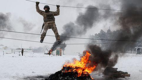 Concentración por el asesinato de Laura Luelmo y ejercicios militares en Ucrania: el día en fotos