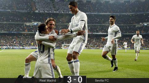 ¿Bajas, qué bajas? El Real Madrid de James se pasea hacia los cuartos
