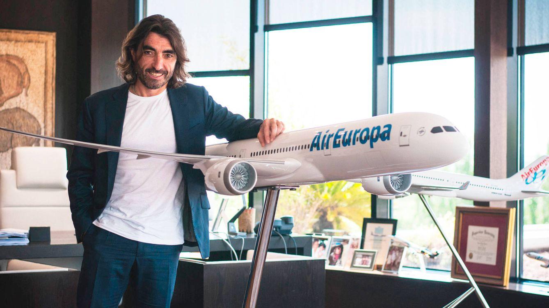 La discreta vida privada de Javier Hidalgo, testigo en la 'boda' de Iberia y Air Europa