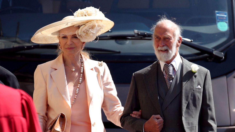Los príncipes Michael de Kent, primos de la reina Isabel. (Reuters)