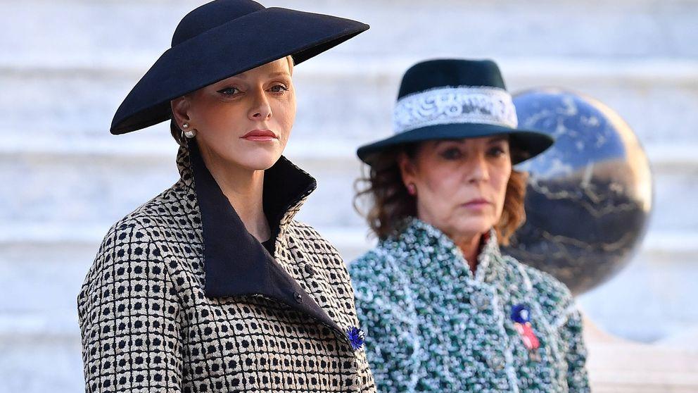 Carolina y Charlène, las Meghan y Kate de Mónaco: evitan coincidir en la agenda