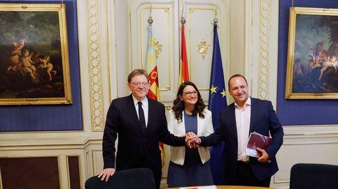 Ximo Puig y Oltra ampliarán más del 20% el Gobierno valenciano para encajar a Podemos