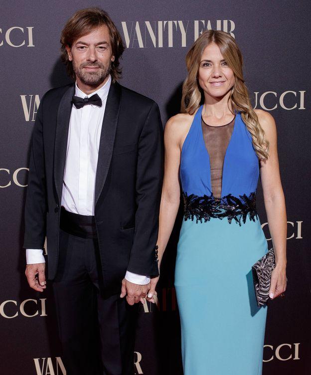 Foto: Santiago Pedraz y Sylvia Córdoba en los Premios Vanity Fair. (Getty)