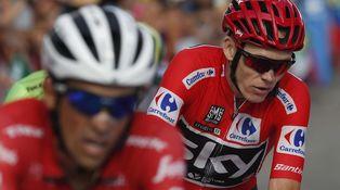 ¿Dónde está Froome, que no lo encuentro? Demasiados jerseys rojos en la Vuelta
