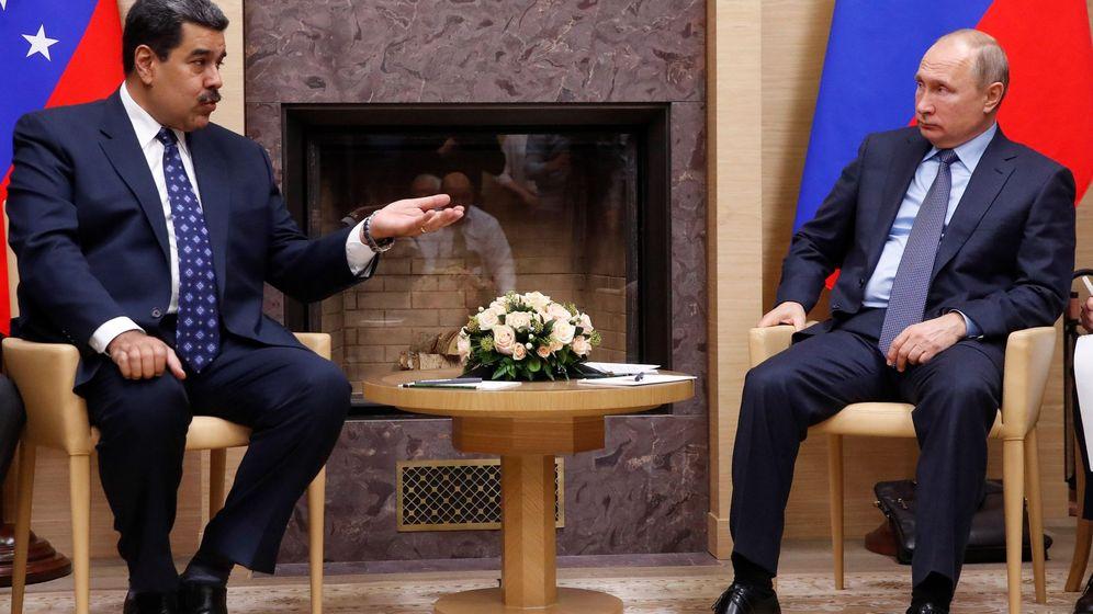 Foto: El presidente ruso, Vladimir Putin (d), y su homólogo venezolano, Nicolás Maduro. (EFE)