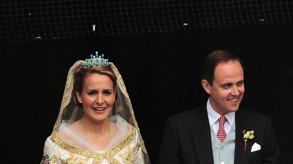 Foto: Jean y Philomena el día de su boda. (Getty)