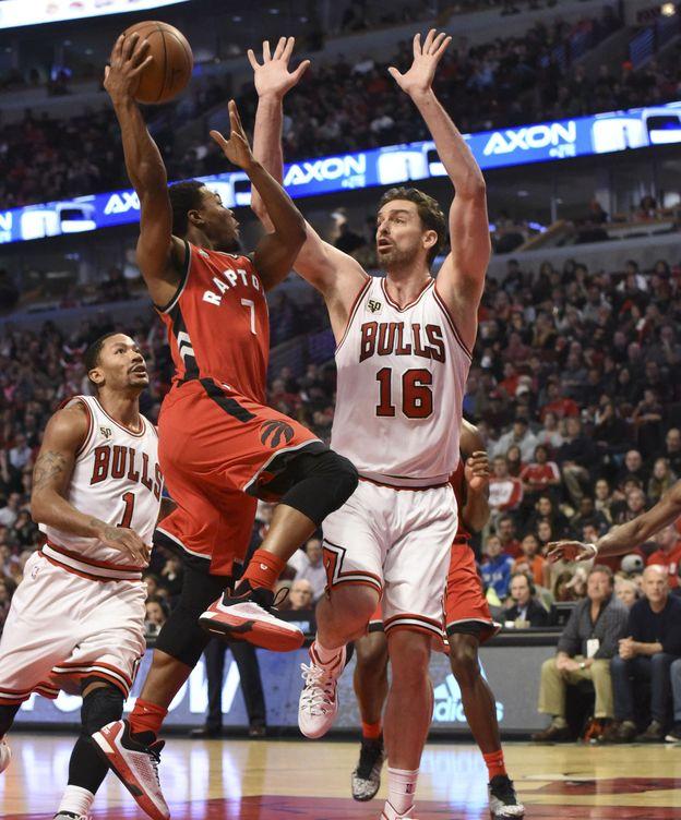 Foto: Pau Gasol fue el jugador más destacado de los Bulls (Efe).