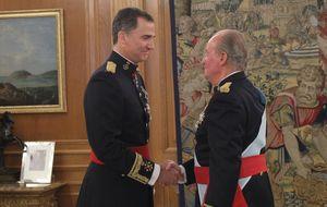 Felipe VI, más de Grecia que Borbón