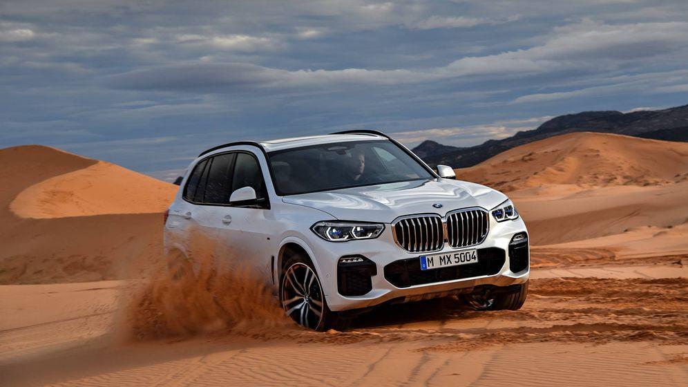 Foto: El nuevo BMW X5 es más grande en todas sus dimensiones pero también es algo más campero.