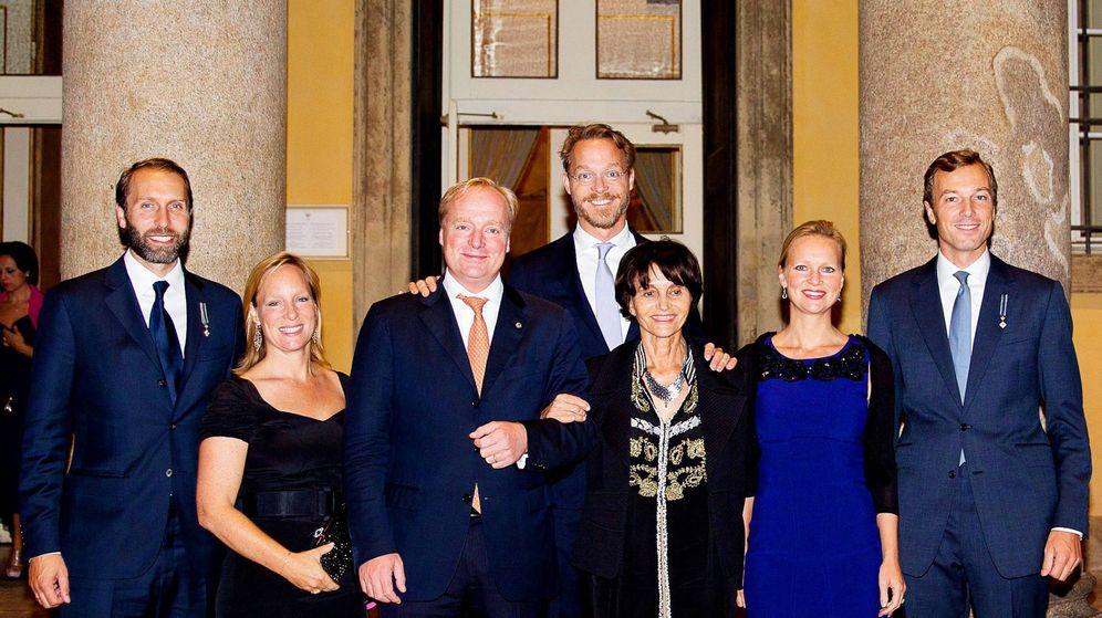 Foto: Parte de la familia Borbón-Parma. (Cordon Press)