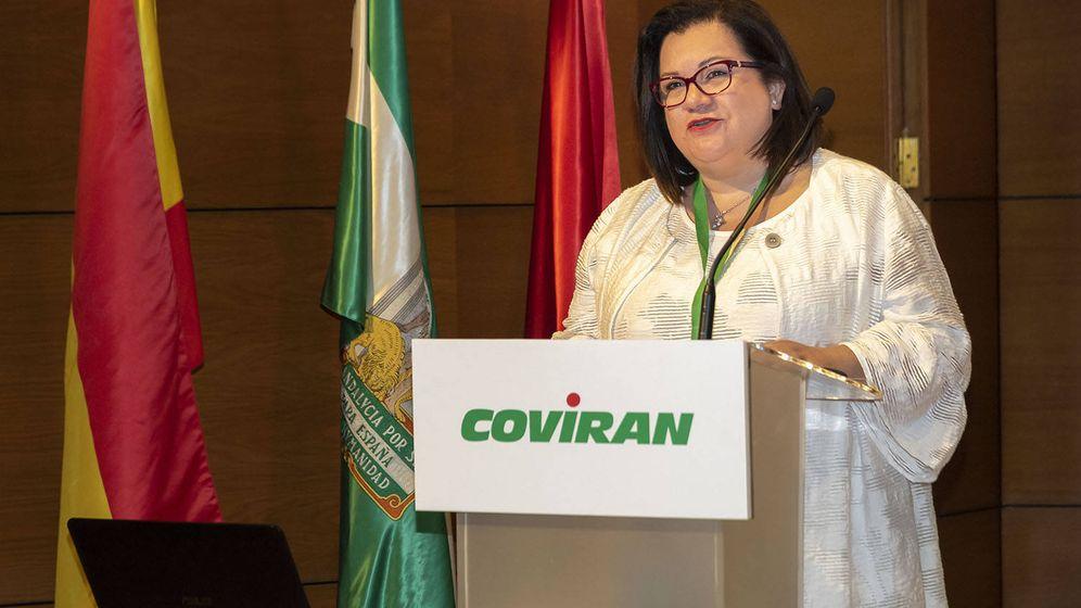 Foto: Petro Contreras, nueva presidenta del grupo de distribución. (Covirán)