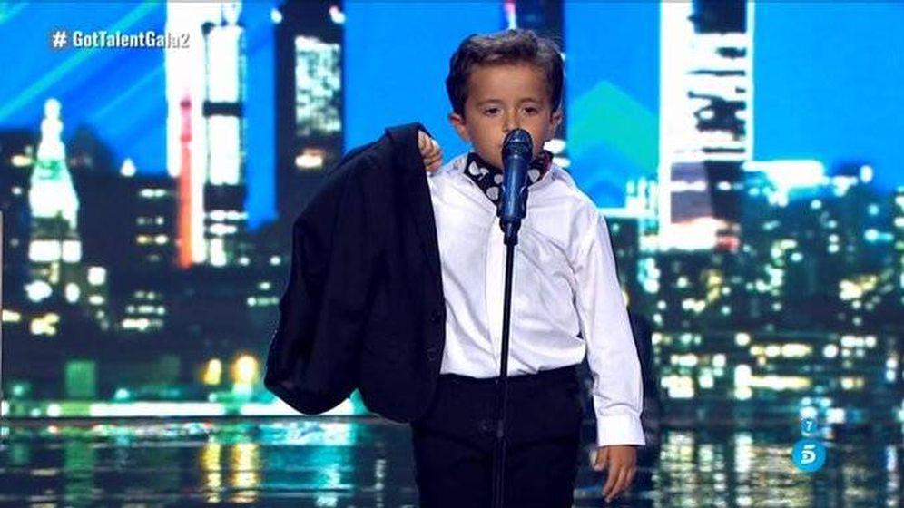 Foto: Mario Prieto, concursante de 'Got Talent España'. (Telecinco)