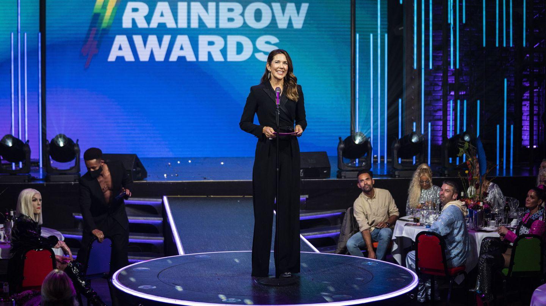 La princesa Mary, este miércoles en la entrega de los Rainbow Awards. (Reuters)