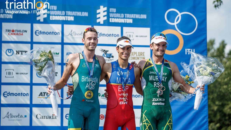 España domina las Series Mundiales: tres triatletas en los tres primeros puestos