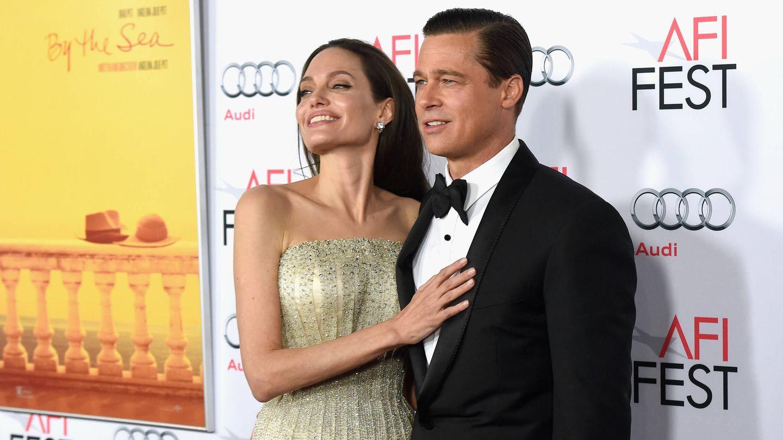 Angelina Jolie y Brad Pitt, en una imagen de archivo. (Getty)