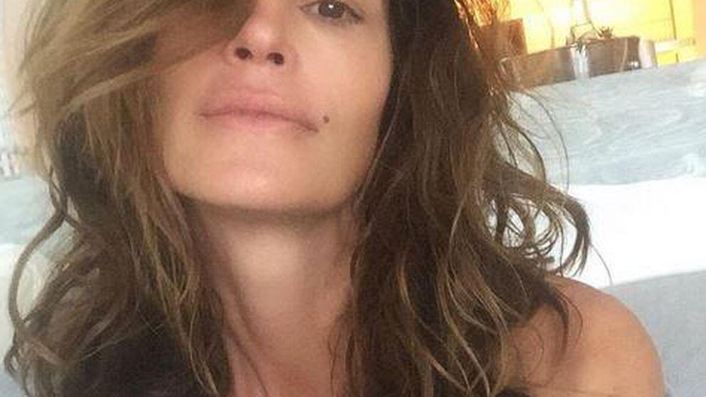 Cindy Crawford se la juega de nuevo con un 'selfie' sin maquillar