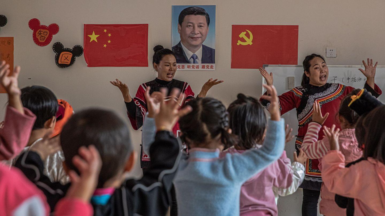 Una escuela en Sichuan (EFE)