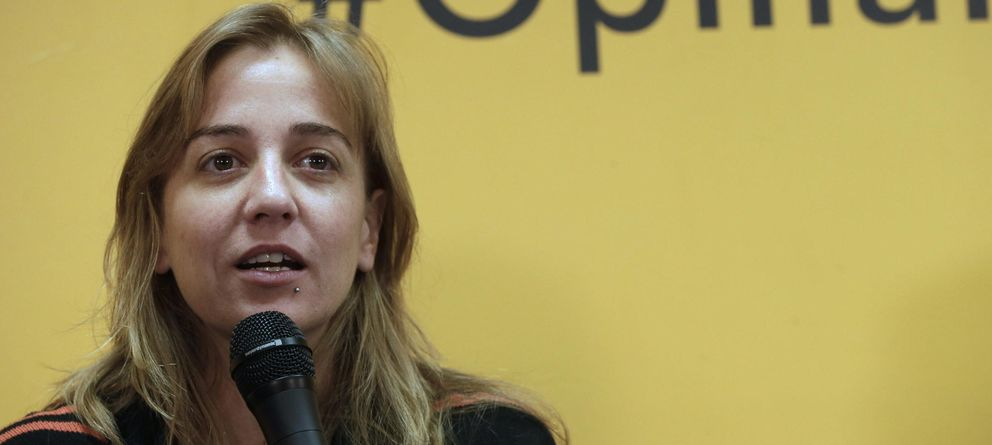 Foto: Tania Sánchez, candidata de IU a la Comunidad de Madrid (EFE)