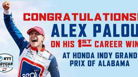 Alex Palou ganó a la primera al 'Hamilton' americano: Es como tirarte en paracaídas