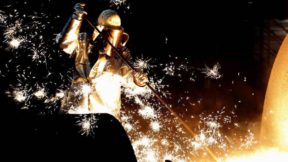 Acerinox y ArcelorMittal se comen el 'profit warning' de Thyssenkrupp