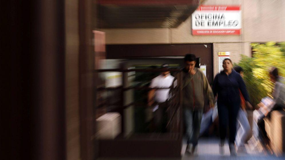 Foto: Oficina del INEM en el complejo de Azca, en Madrid. (EFE)