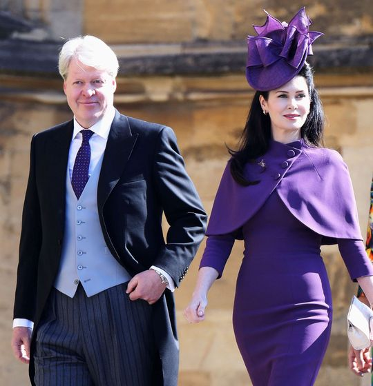 Foto: Charles Spencer y su mujer Karen (Reuters)