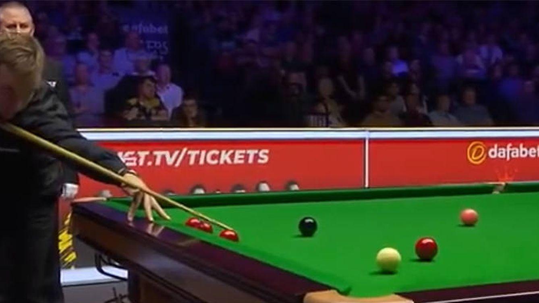 Ruidos de pedos interrumpen la final del Máster de Snooker