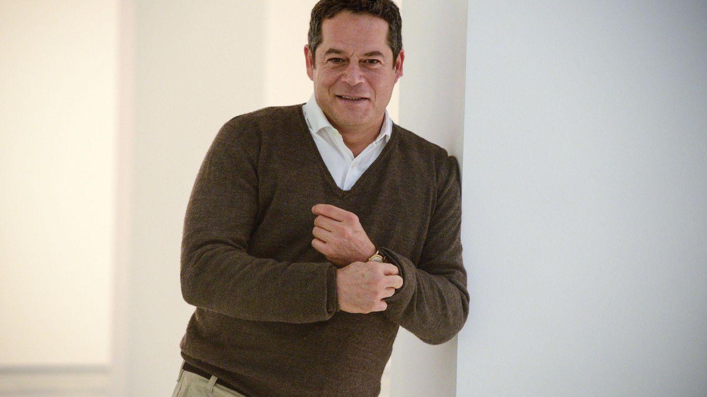 Jorge Sanz, en una entrevista para Efe en Ourense. (EFE/Brais Lorenzo)