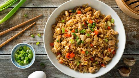 Variedades de arroz frito y sus calorías
