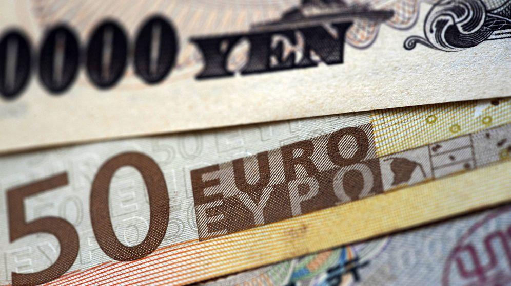 Foto: El euro releva al yen como la gran moneda de financiación del mundo