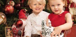 Post de Así felicitan la Navidad los príncipes Jacques y Gabriella de Mónaco