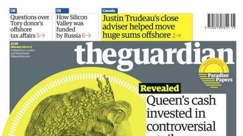 'The Guardian' lleva a portada a la reina de Inglaterra y sus polémicas inversiones