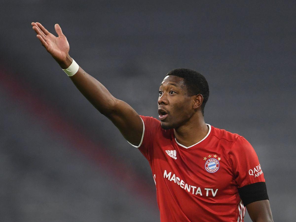 Foto: David Alaba en un partido con el Bayern de Múnich. (EFE)