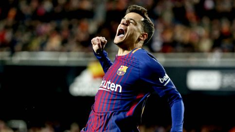 A Coutinho le empiezan a salir las cosas y conduce al Barcelona a otra final de Copa