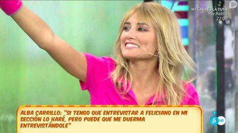 Alba Carrillo opina sobre la nueva 'amiga' de Feliciano López