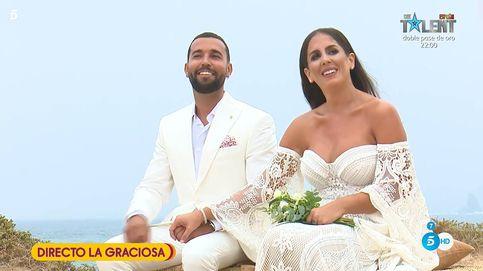 Anabel se casa en La Graciosa (y ante toda España, en directo) gracias a 'Sálvame'