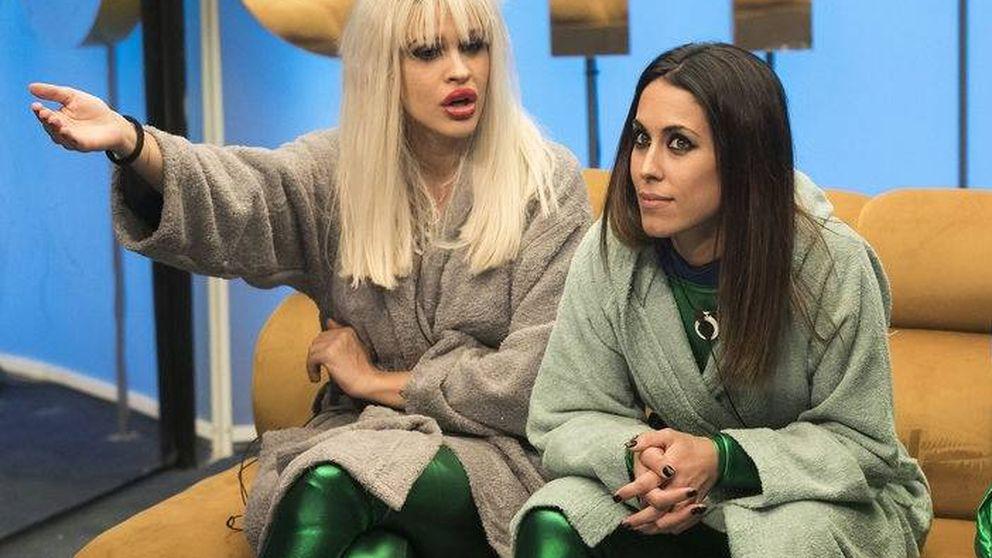 Bronca máxima entre Ylenia y Raquel en 'GH Dúo': ¡A mí no me empujes!