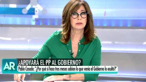 El reproche de Ana Rosa Quintana, indignada con Pedro Sánchez en T5