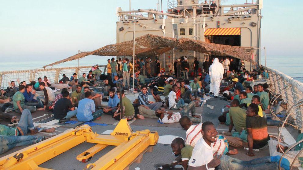 El lucrativo y sanguinario negocio del tráfico ilegal de migrantes en el Mediterráneo