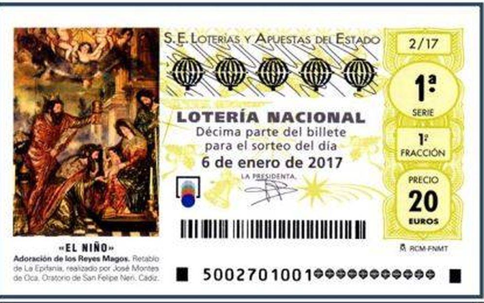 Foto: Décimo de la Lotería del Niño 2017
