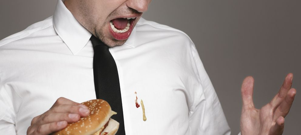 La gu a definitiva para librate de una vez por todas de for Mustard stain on white shirt