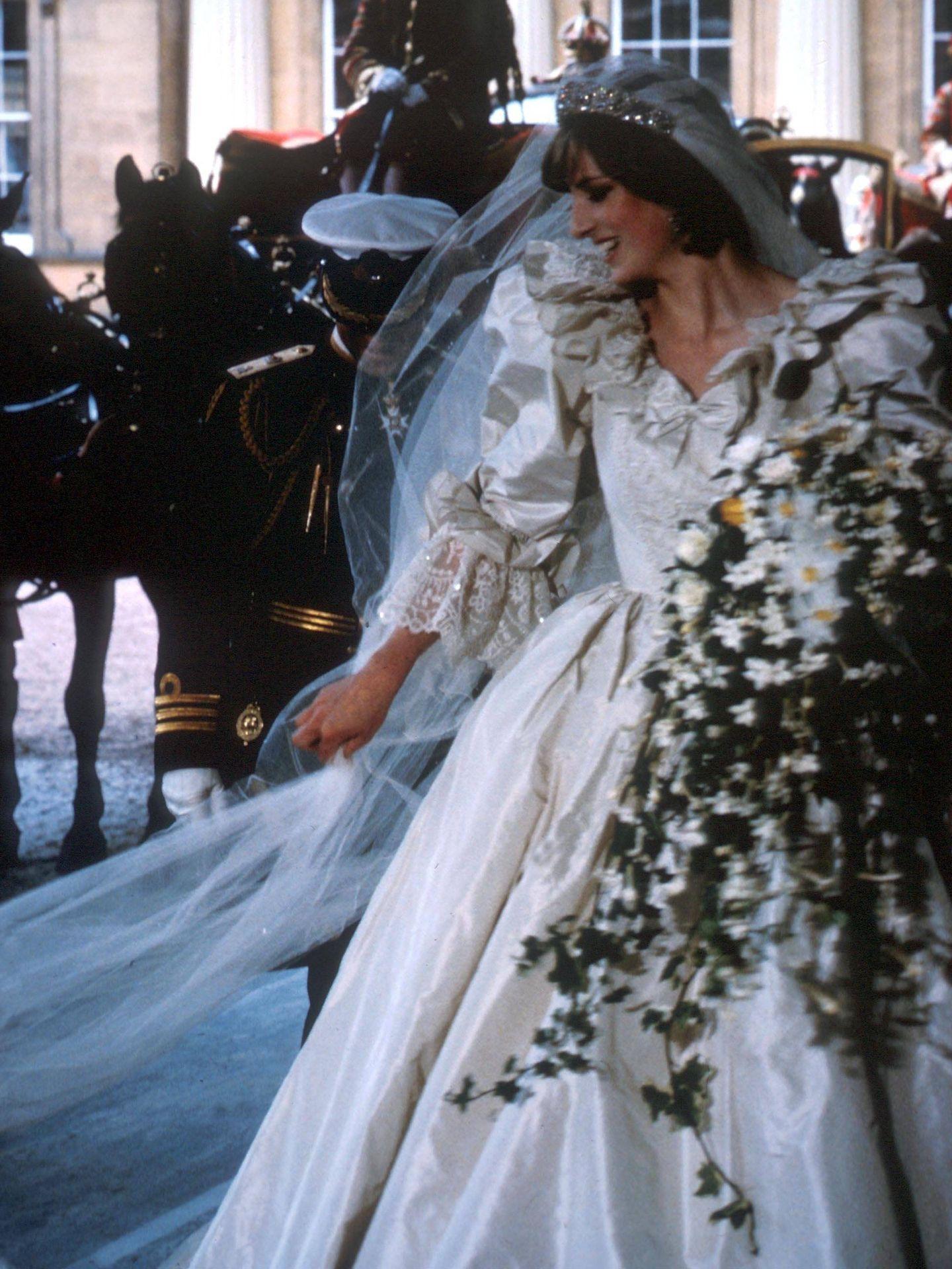 Diana, el día de su boda. (Cordon Press)
