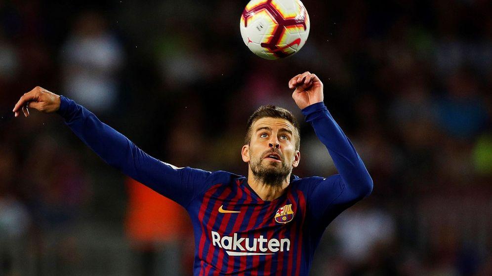 Foto: El defensa del Barcelona Gerard Piqué. (EFE)
