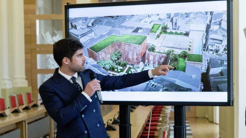 Fernando Palazuelo presenta su proyecto. (@GFVara)