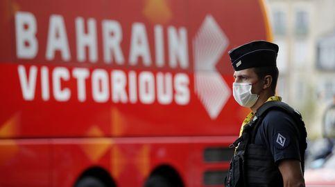 La Gendarmería francesa registra el hotel del Bahrein-Victorious en el Tour
