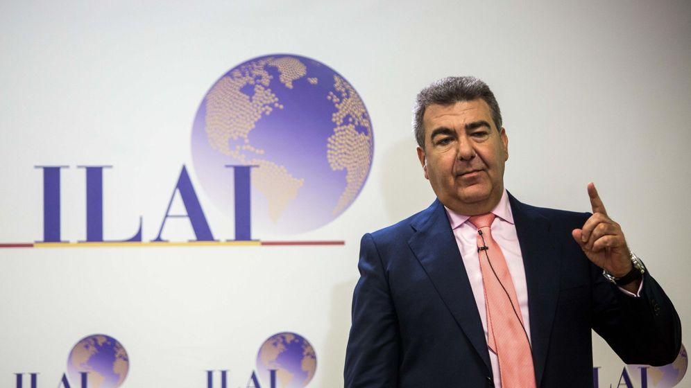Foto: Carlos Bertomeu, en la presentación de plan director 2018-2020 de ILAI. (EFE)