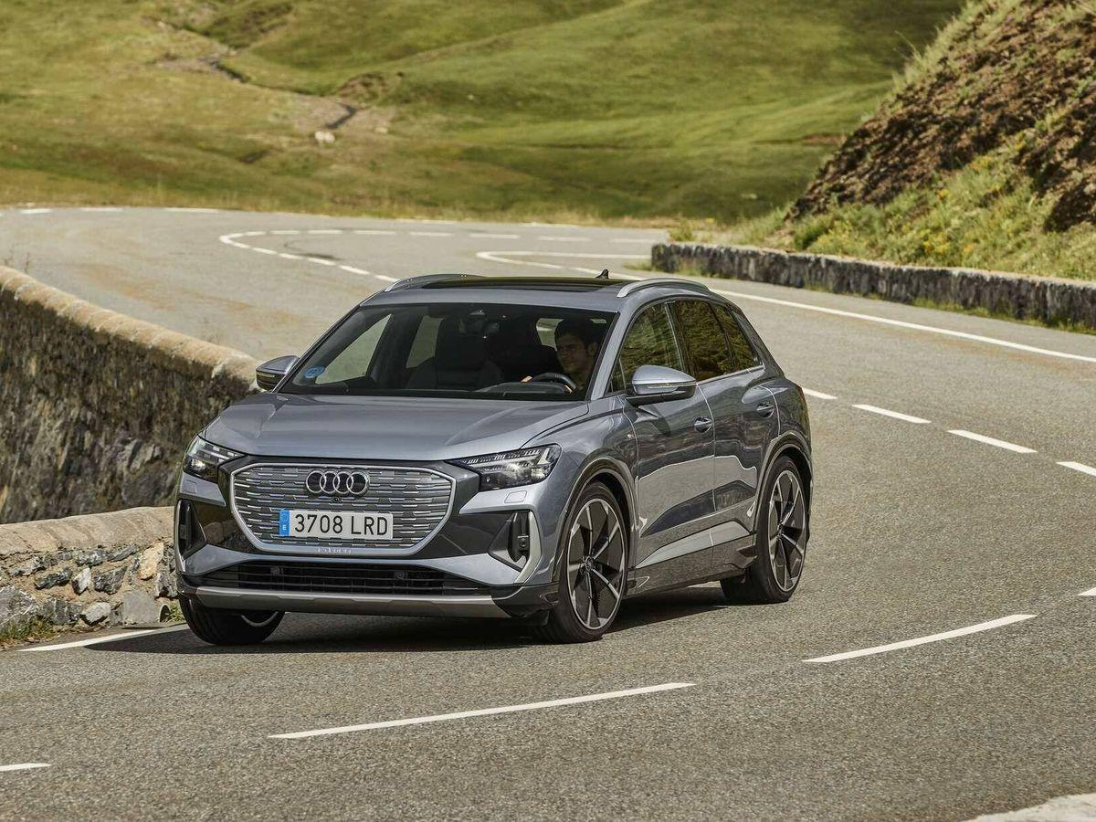 Foto: El Q4 e-tron llega al mercado español y en septiembre se ampliará la gama con la variante Sportback con un estilo más deportivo.