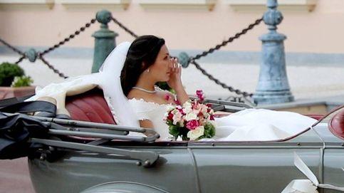 Las lágrimas de Marie Chevallier al llegar a la catedral para casarse con Louis Ducruet