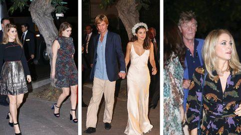 Confidencias y selfies: las fotos (no oficiales) de la boda de Christian y Sassa de Hannover