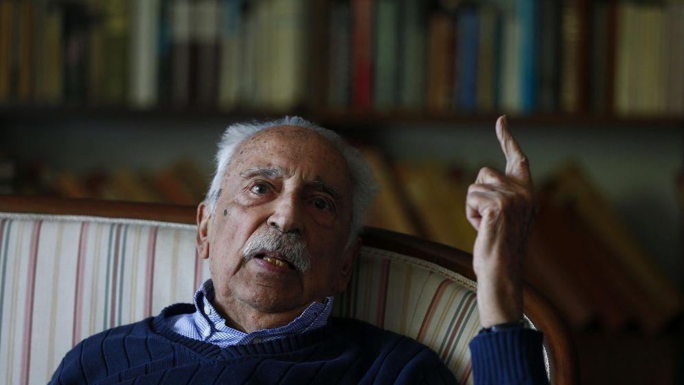Foto: Salvador Pániker durante una entrevista. (EFE)
